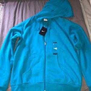 Women's Nike Full Zip Hoodie Sweatshirt